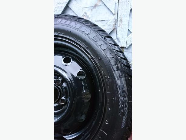 obo 14 excellent winter tires on rims 185 60 r14. Black Bedroom Furniture Sets. Home Design Ideas