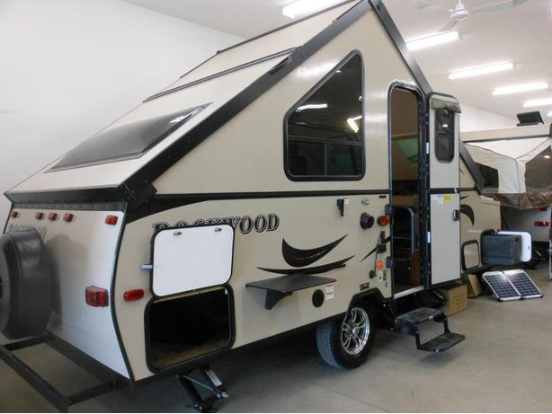 NEW 2016 Rockwood A212HW Hard Side Pop Up Trailer