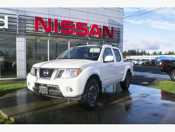 2017 nissan frontier pro 4x 4x4 tow package campbell river comox valley. Black Bedroom Furniture Sets. Home Design Ideas