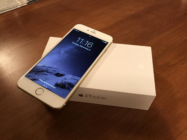 iphone 6 plus 16 gb gold lte fantastic condition priced to sell victoria city victoria. Black Bedroom Furniture Sets. Home Design Ideas