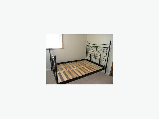 am selling my ikea queen bed frame which is in great shape and 2