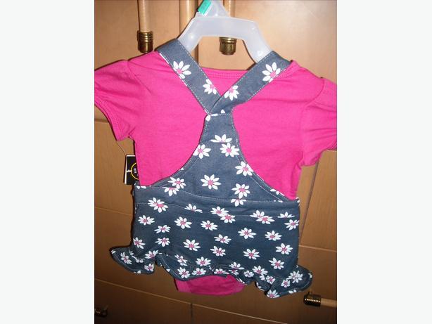 Brand New Girl's 2 Piece Outfit (Size 3-6 months)