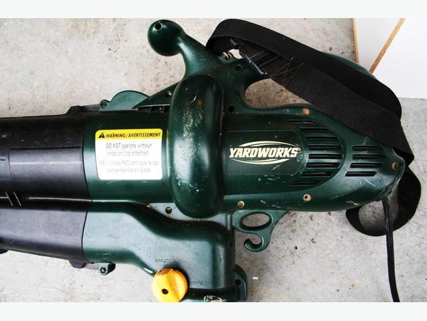 Heavy Duty Blower : Leaf blower heavy duty electric north nanaimo