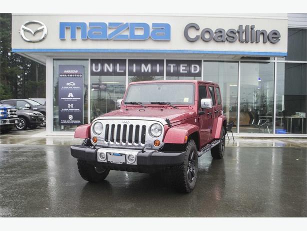 2012 Jeep Wrangler Unlimited Sahara 4X4 | HEATED SEATS
