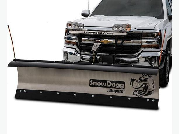SNOWDOGG SNOWPLOW and  SPREADER