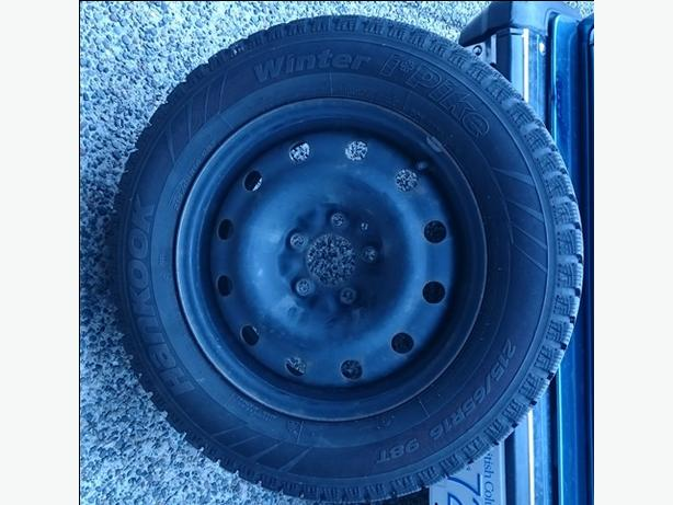 Hankook I*Pike winter tires ON RIMS