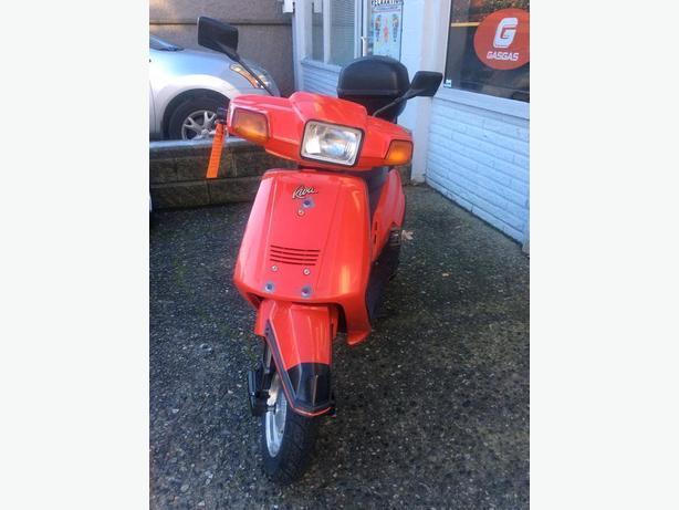 1986 Yamaha RIVA 125cc Scooter