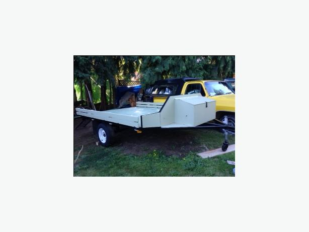 Sport/Utility Trailer with ramps