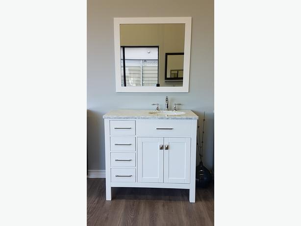 36 White Bathroom Vanity Everything Included New Orleans Gatineau