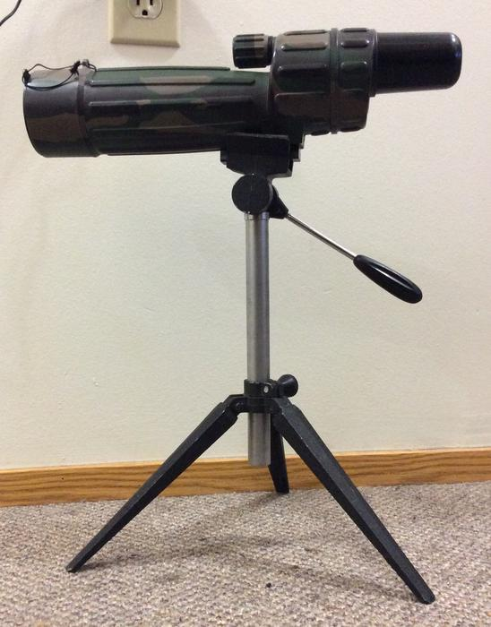 Bushnell Trophy Red Dot Trs 25 3 Moa Red Dot Reticle: Bushnell Trophy 50mm Spotting Scope And Tripod Saanich