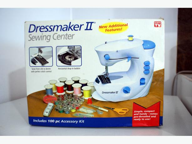 DRESSMAKER II SEWING CENTER NEW IN THE BOX GREAT FOR BEGINNER Classy Dressmaker Ii Sewing Machine