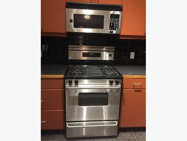 Gas range dishwasher over the range microwave central regina regina - Red over the range microwave ...