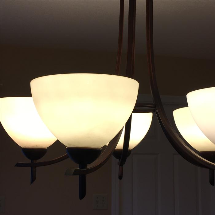 Dining Room Chandelier With Five Lights Victoria City