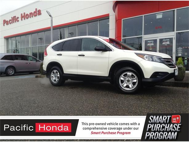 2013 Honda CR-V LX-Cert - LOCAL 1 OWNER LEASE RETURN