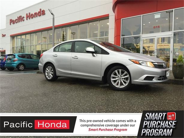 2012 Honda Civic EX-L - NAVIGATION, ZERO (0) ACCIDENT CLAIMS