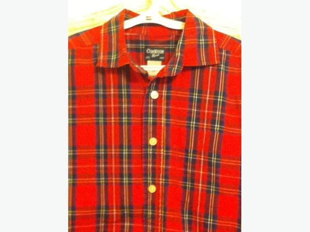Boys Tartan Shirt Size 10