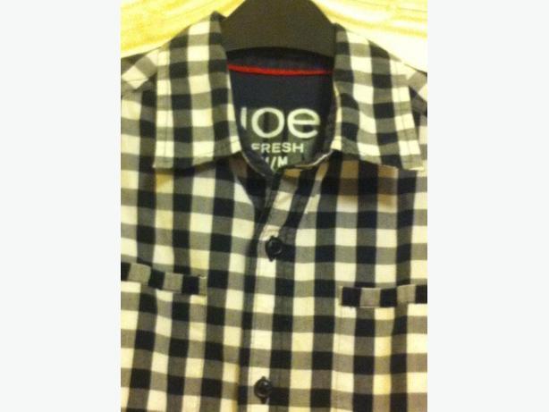 Boys Check Shirt Size M (8-10)