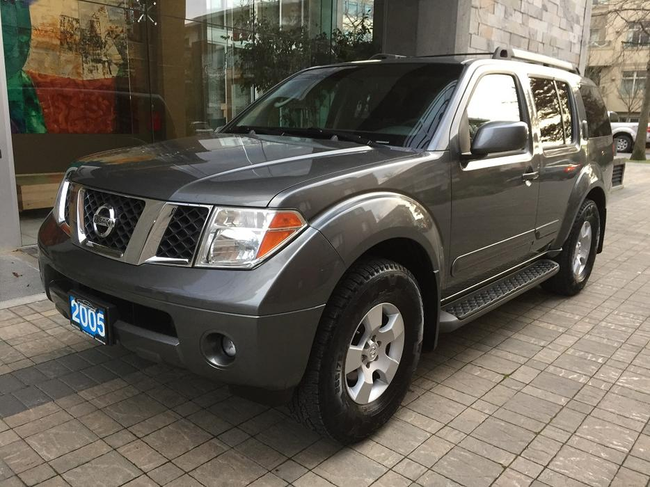 2005 Nissan Pathfinder Se 4wd Local Vehicle No