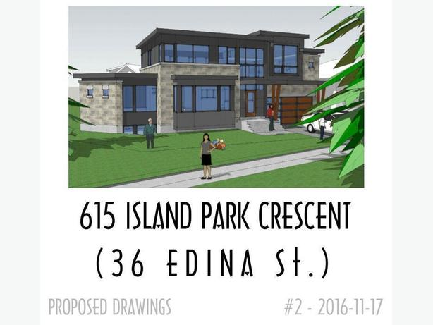 Build your dream home for spring! 4400 sqft lot 615 Island Park Crescent