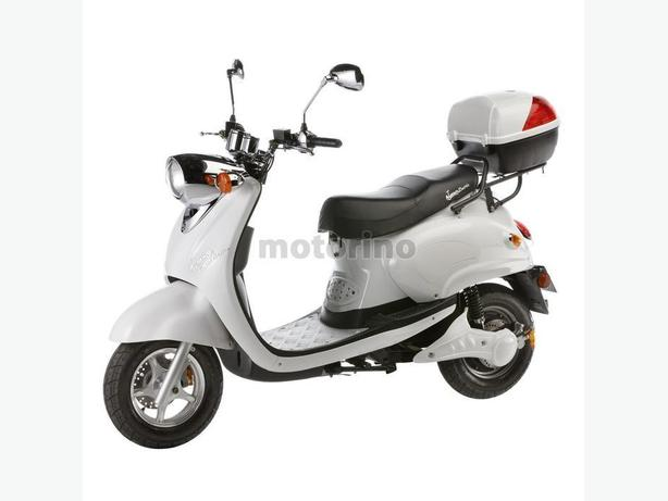 Used Motorino XPn white 48V Electric scooter * No License *
