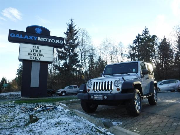 2010 Jeep Wrangler Sport - 4WD, Tow Package & Tow Hooks