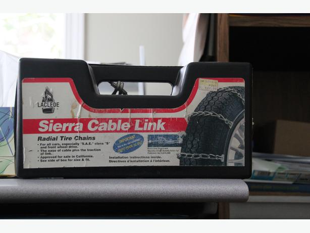 Sierra Cable Link Chains Model Number 1930 Saanich