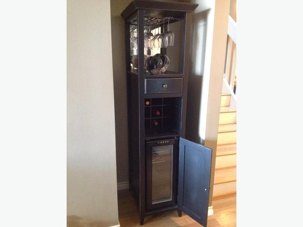 Nice Piece Of Furniture With Wine Glass Rack Wine