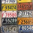 WANTED: Old Alberta & Military License Plates
