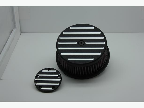 Screamin' Eagle Air Cleaner/Timing Cover set