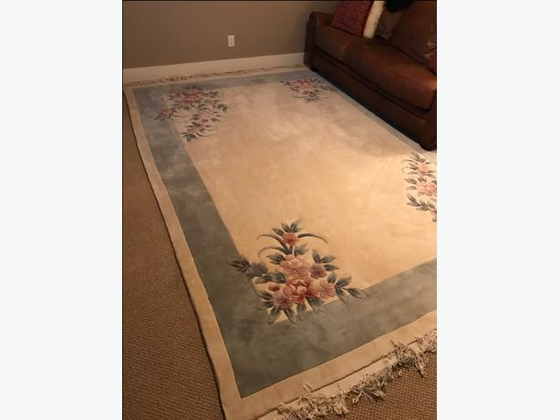 Plush Chinese Style Oriental Floral Decorative Area Rug Victoria City Victoria