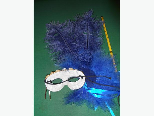 Authentic Mardi Gras Mask