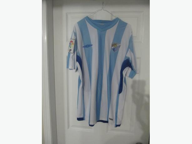 Malaga CF Umbro Jersey. Spain.  Men's L