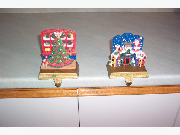 Christmas stocking holders vintage orleans gatineau for Best stocking holders