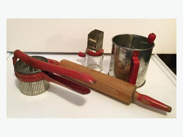 Vintage Collector Kitchen Things