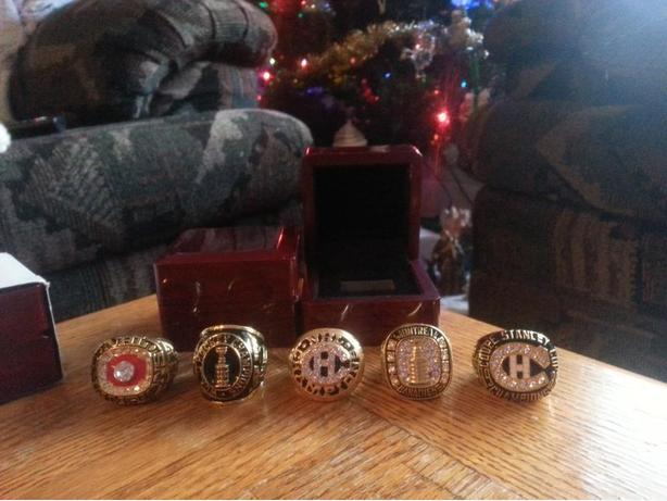 NHL HIGH QUALITY CHAMPIONSHIP RINGS
