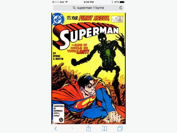 Superman #1-150 (Byrne 1987 series)