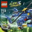 As new LEGO Alien Conquest Jet Copter, complete with box and instructions.