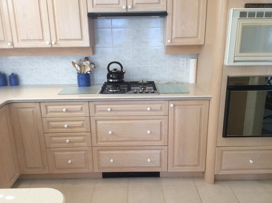 used kitchen cabinets victoria bc kitchen cabinets with some appliances saanich 27863