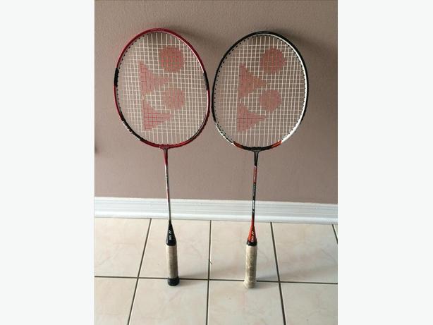 2 Hi-Quality YONEX Badminton Racquets