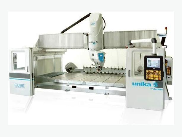 "Denver ""Unika 5 axis"" CNC Stone Bridge Saw / work center"