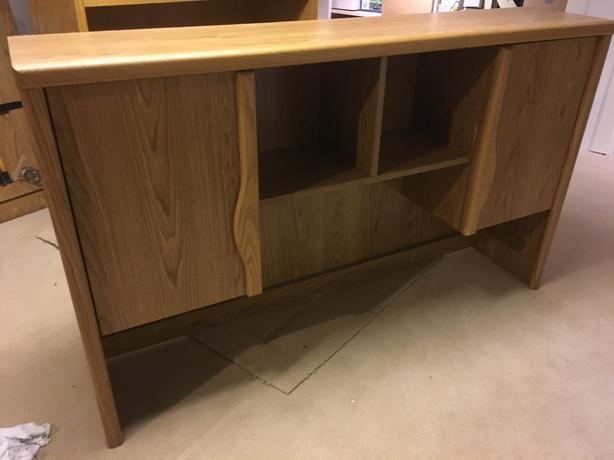 desk shelving central saanich victoria. Black Bedroom Furniture Sets. Home Design Ideas