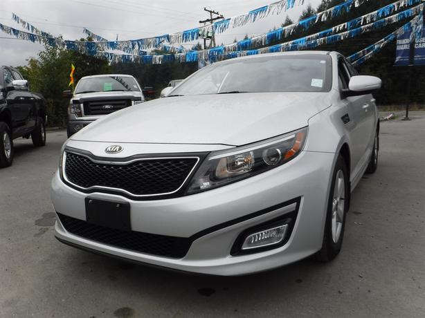 2014 Kia Optima Lx Bluetooth Alloy Heated Front Seats