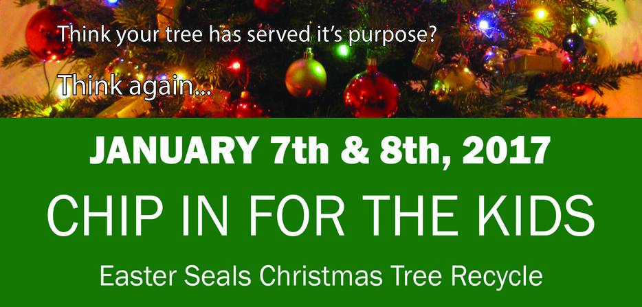 Christmas Tree Recycling Abbotsford : Chip in for the kids christmas tree recycle victoria