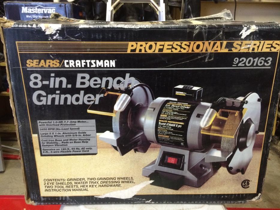 Craftsman 8 Bench Grinder 28 Images Craftsman Bench
