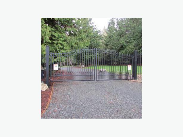 Aluminum Driveway Gates - Westcoast Custom Gates Ltd