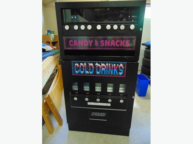mechanical vending machine