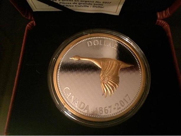 oz. Pure Silver Coin – Big Coin Series: Alex Colville Designs: 1 Dollar