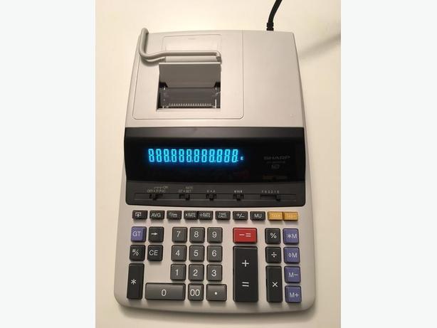 Sharp EL-2630PIII Color Printing Calculator with Clock and Calendar