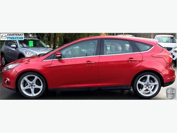 2012 ford focus titanium hatchback outside comox valley courtenay comox mobile. Black Bedroom Furniture Sets. Home Design Ideas