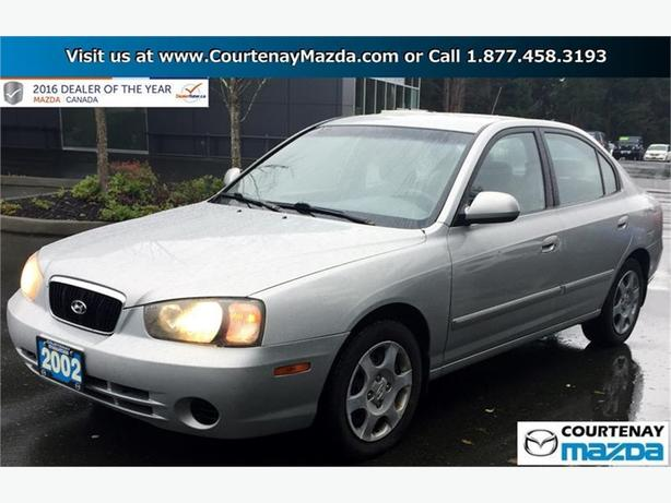 2002 Hyundai Elantra 4Dr Sedan GL at